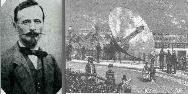 Auguste Mouchot - Concentrateur solaire